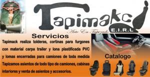 tapimakc tapizado para camiones, camionetas, toldos, cortinas, mecanismos de asientos