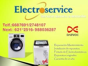 servicio t�cnico de lavadoras lg samsung daewoo a domicilio= 6687691