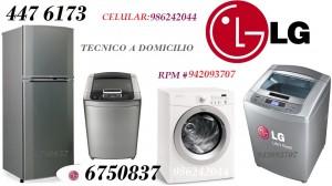 servicio tecnico lg lavadoras tromm  4476173  en surquillo