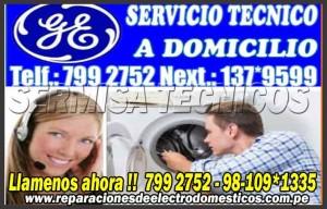 surco /servicio tecnico general electric 2761763 lavadoras -secadoras