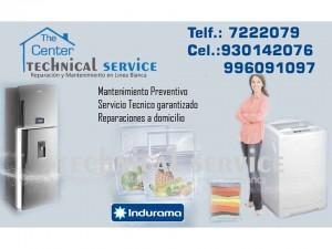 reparación  refrigeradores indurama . a domicilio **rpm..#996091097/se