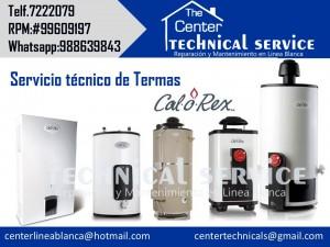 technical service* servicio t�cnico de termas calorex*a gas y electric