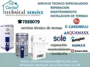 servicio tecnico termas electricas 7222079 rpm #996091097/mantenimient