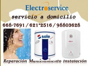 servicio t�cnico de termas bosch a gas o el�ctricas