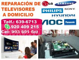servicio tecnico samsung panasonic a domicilio (920-409-215) reparaciÓn de televisores a lima y call