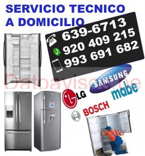 reparacion de refrigeradoras (920-409-215) samsung y lg / servicio tÉcnico a domicilio
