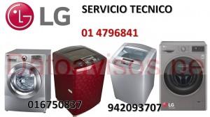 servicio tecnico lavadora secadora lg a domicilio