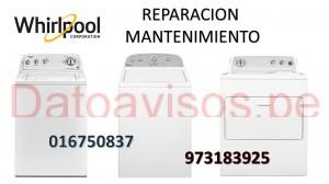 reparacion de refrigeradora lavadora whirlpool  016750837