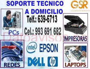técnico informÁticos (993691682) de computadoras, laptops e impresoras a domicilio / reparación a do