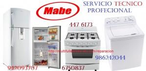 servicio tecnico lavadoras mabe 4476173 a domicilio