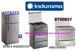 servicio tecncio indurama refrigeradoras 4476173  /986242044