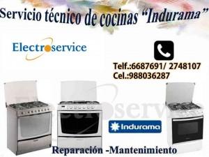 servicio t�cnico �indurama reparaci�n de cocinas lima