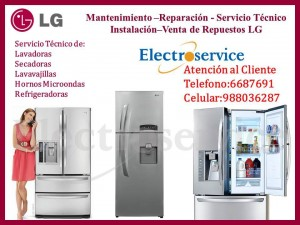 servicio técnico de refrigeradores lg lima surco