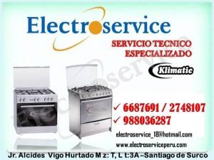 *especialistas en artefactos klimatic servicio tecnico 6687691 en lima