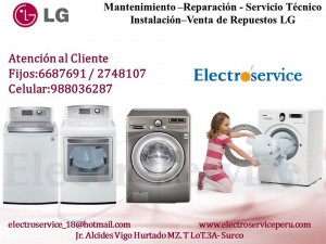 servicio tÉcnico reparación mantenimiento de lavadoras  (( lg )) 98803