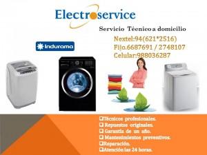 indurama servicio tecnico de lavadoras reparacion mantenimiento en li