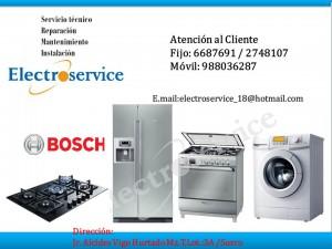 servicio tecnico reparaci�n de bosh a domicilio 988036287 en lima
