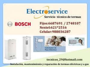 �♠○servicio t�cnico 988036287 mantenimiento de termas bosch�