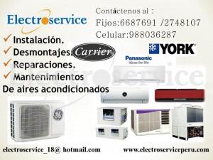 servicio técnico de aire acondicionado   tel: 6687691 // 988036287 – e