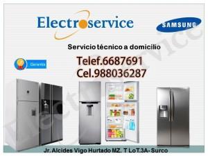 servicio técnico reparación de refrigeradores samsung.**]cel: 98803628
