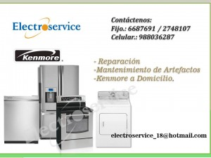 kenmore servicio tecnico autorizado de refrigeradores // lima **