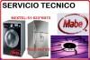 SERVICIO TECNICO MABE LAVADORAS COCINAS