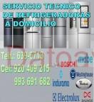 """servicio tecnico de refrigeradoras """"920-409-215"""" electrolux y mabe a domicilio lima"""