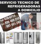 920-409-215 tecnicos de refrigeradoras whirpool y frigidaire / reparacion a domicilio