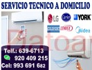 instalacion y reparacion de aire acondicionado 920-409-215 a domicilio york samsung lg midea carrie