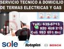 reparaciÓn, mantenimiento cel: 920-409-215 y servicio tecnico de termas sole, bosch, rotoplas elÉctr