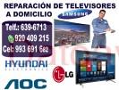 tÉcnicos con experiencia en televisores whatsapp: 920409215 samsung, lg, hyundai, panasonic, sony, s