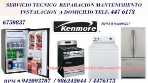 servicio tecnico kenmore lavadoras  de reparacion  # 942093707