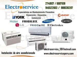 – servicio técnico de aire acondicionado  reparacion tel: 6687691 // 2